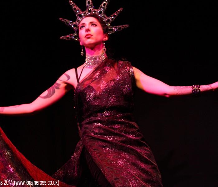 Missy Malone & Friends Show @ The Voodoo Rooms, Edinburgh 14/10/2011