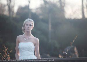 Bridal Editorial at Lauriston Castle, Edinburgh
