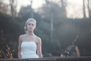 Bridal Editorial at Lauriston Castle, Edinburgh