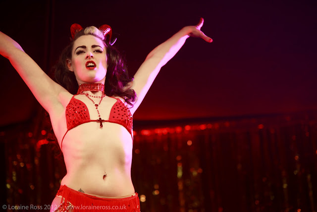 Burlesque Photography at Edinburgh Fringe Festival 2012