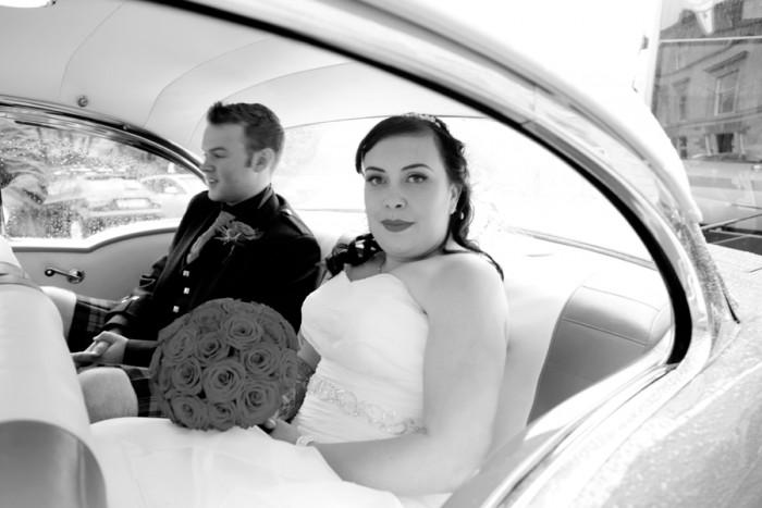 Amanda & David - A tattooed 50s Glasgow Wedding 31st August 2012