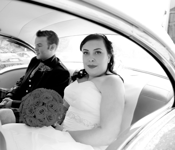 Amanda & David - A tattooed 50s Glasgow Wedding 31st August 2012