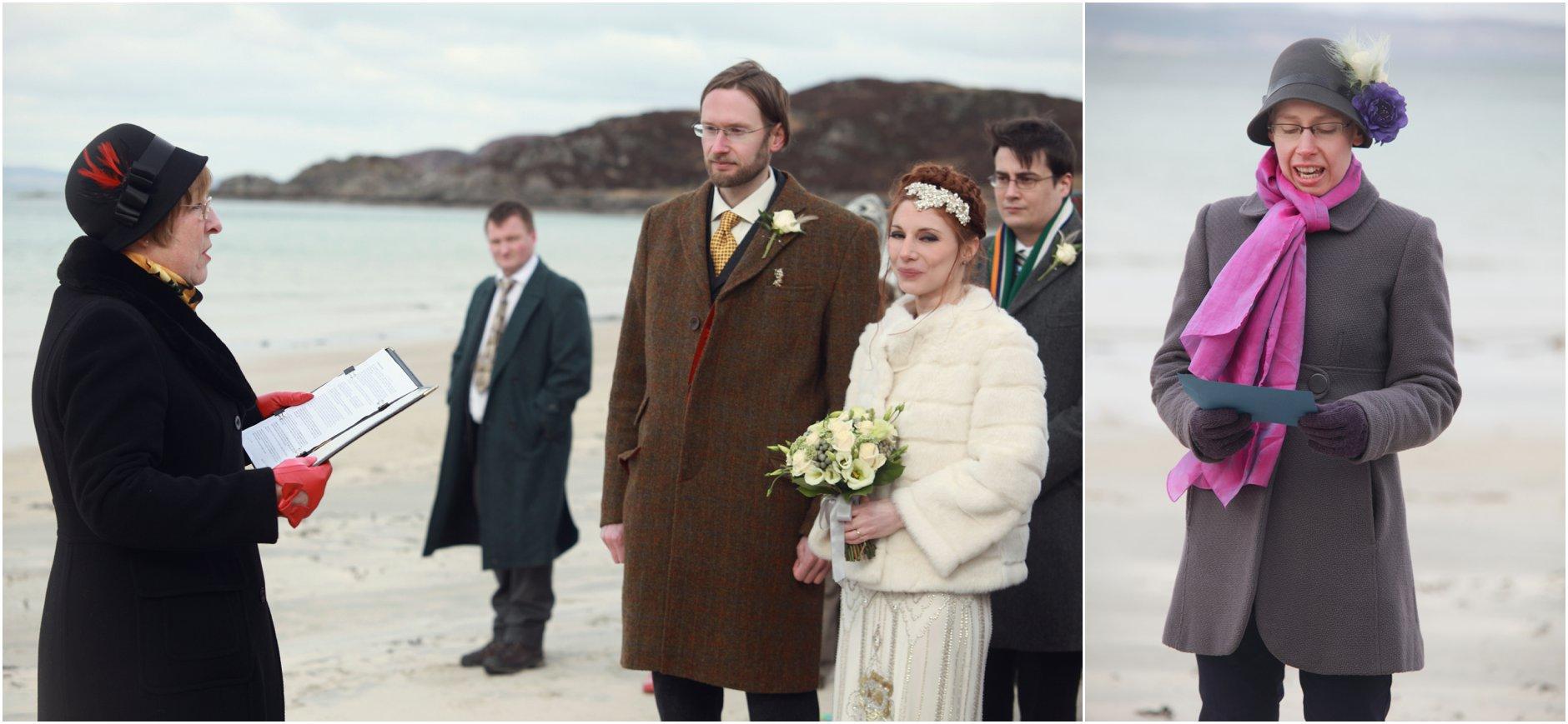 arisaig wedding, camusdrach beach wedding, scottish highlands wedding, scottish beach wedding, jenny packham, jenny packham eden, vintage wedding, 1920s wedding,