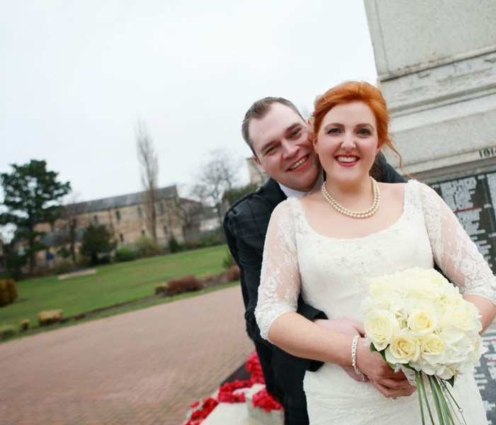 David and Kirsteen - East Kilbride and Motherwell wedding with the cutest couple