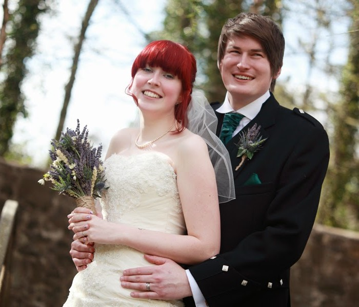 Kim and Donald - a local woodland themed wedding at Capital Hotel, Edinburgh