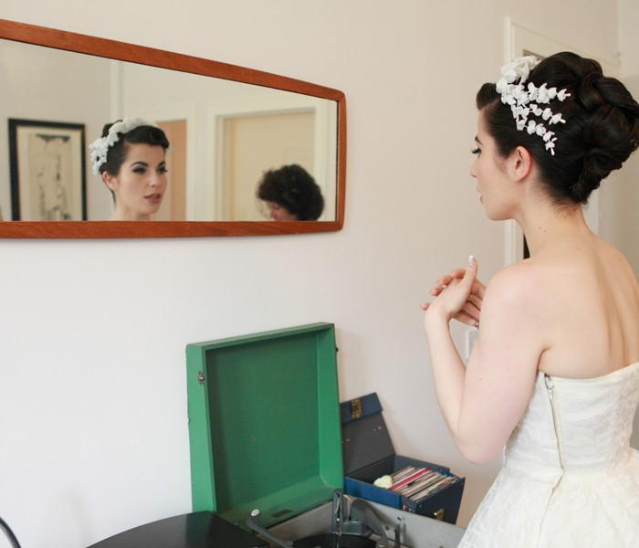 Luke and Afsi - a stunning Edinburgh vintage themed wedding