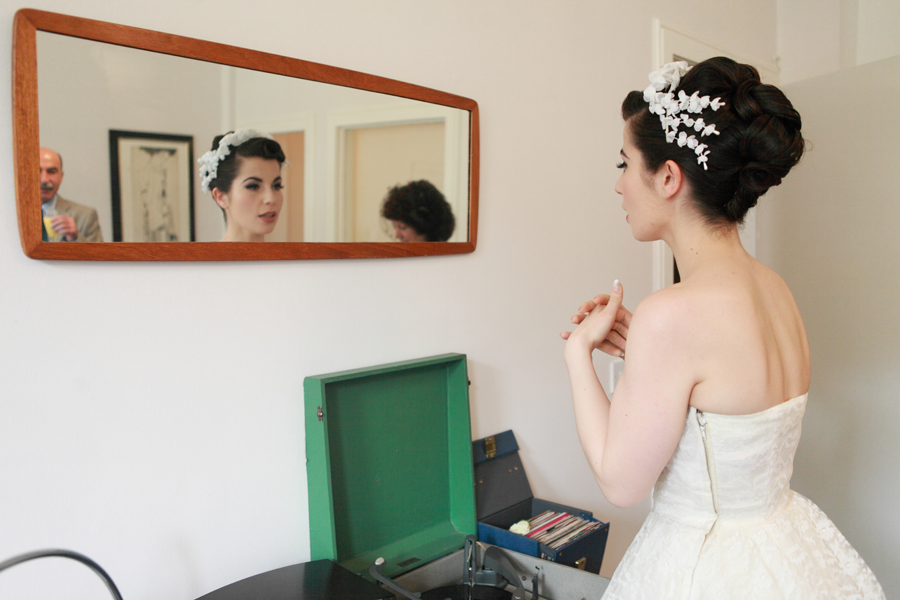 edinburgh vintage wedding thomas morton hall