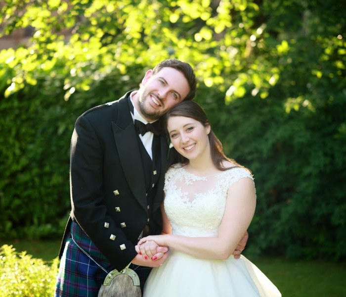Mary and Patrick - St Patricks Church in Shotts and Sherbrooke Castle Wedding