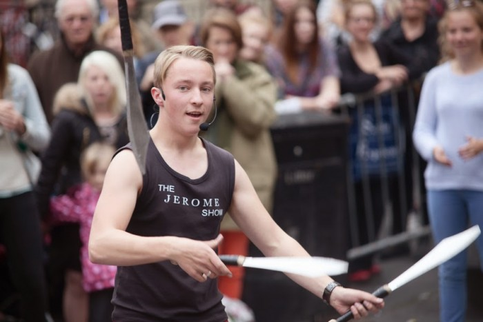 The third of my Fringe 2014 blogs...Edinburgh Fringe Street Performers