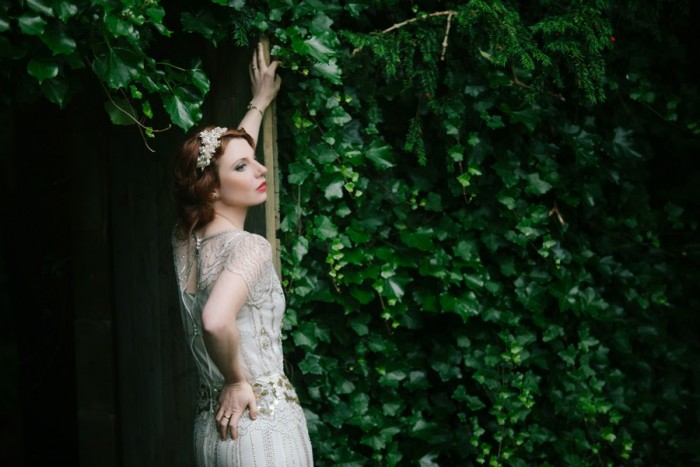 Edinburgh Vintage Post Wedding Shoot with Jenny Packhanm Eden Dress - Joanna