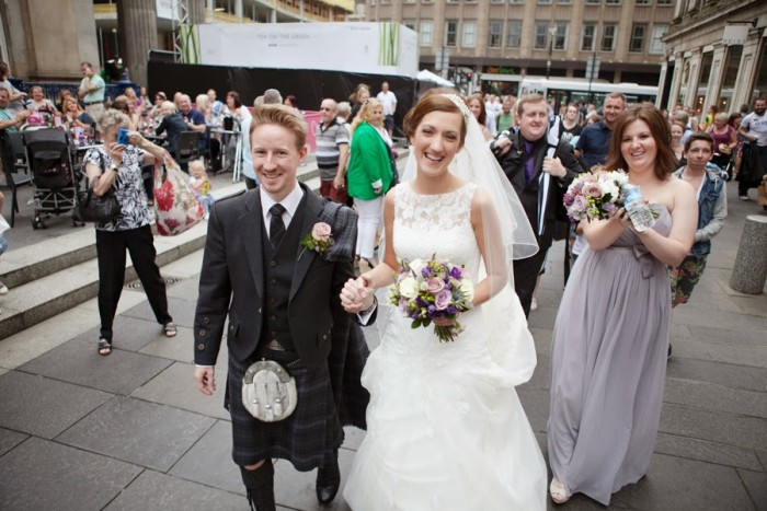 A stylish Glasgow wedding during the Commonwealth games - Lorraine and Greg