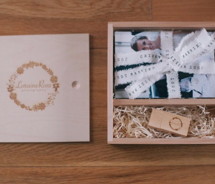 Introducing wedding USB boxes - Edinburgh Wedding Photographer