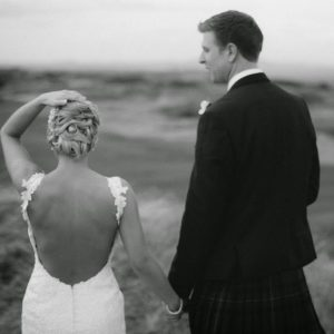 Gorgeous Fairmont St Andrews Wedding with the perfect couple Jen and John