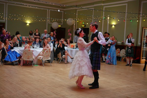 Love My Dress Blog Feature - Edinburgh 50s Rock n Roll Wedding Luke and Afsi