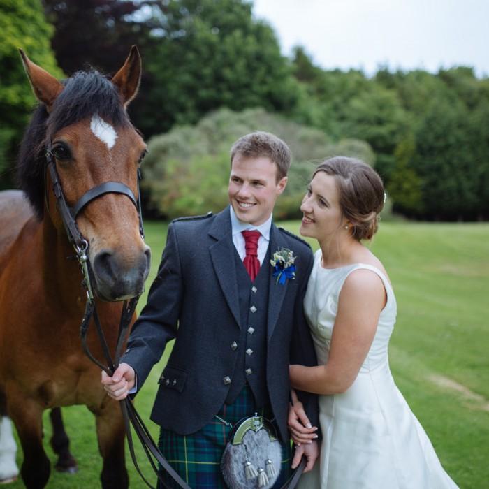 A Country Wedding at Broxmouth Park - Hannah & Rory