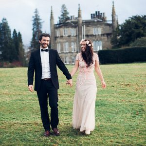 Vintage styled post wedding shoot at Ross Priory, Loch Lomand - Donna & Dan