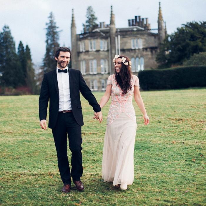 Vintage Wedding Dresses Glasgow: Creative Glasgow Post Wedding Photoshoot
