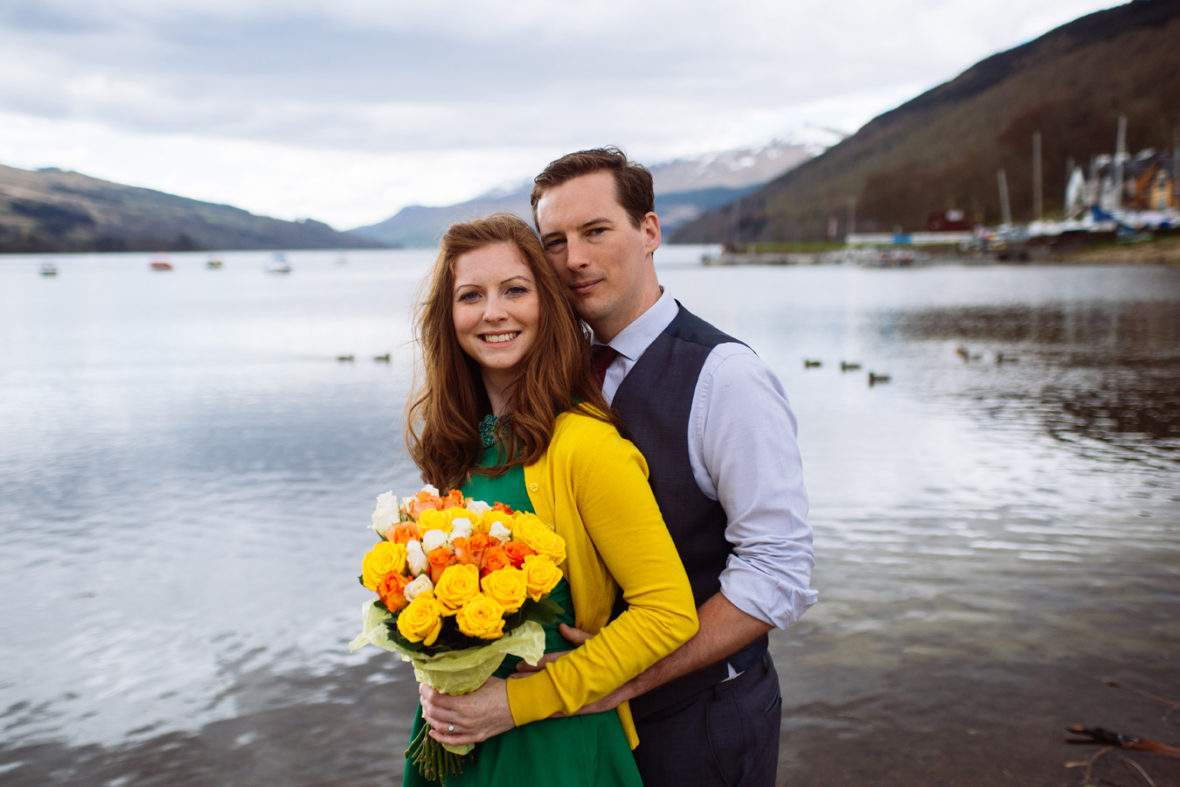 mains of taymouth aberfeldy engagement photos