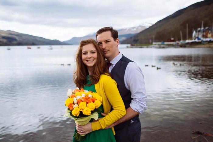 Mains Of Taymouth Aberfeldy Engagement Shoot - Lisa & Derek
