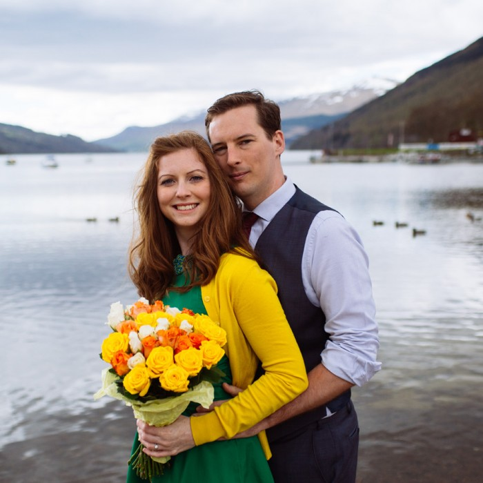 Mains Of Taymouth Aberfeldy Engagement Shoot - Lisa & Derek