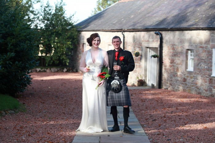Lesley and David's wedding at Shieldhill Castle