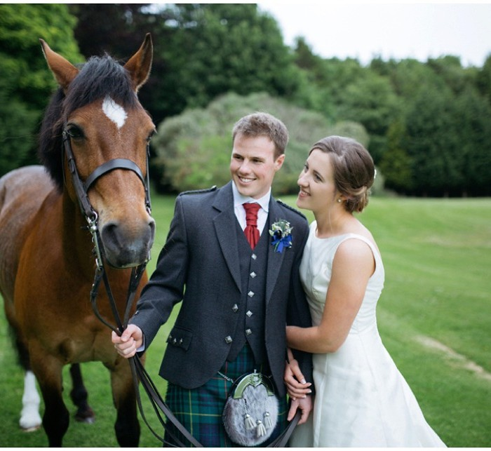 We Fell In Love Blog Feature - Broxmouth Park Wedding Hannah & Rory