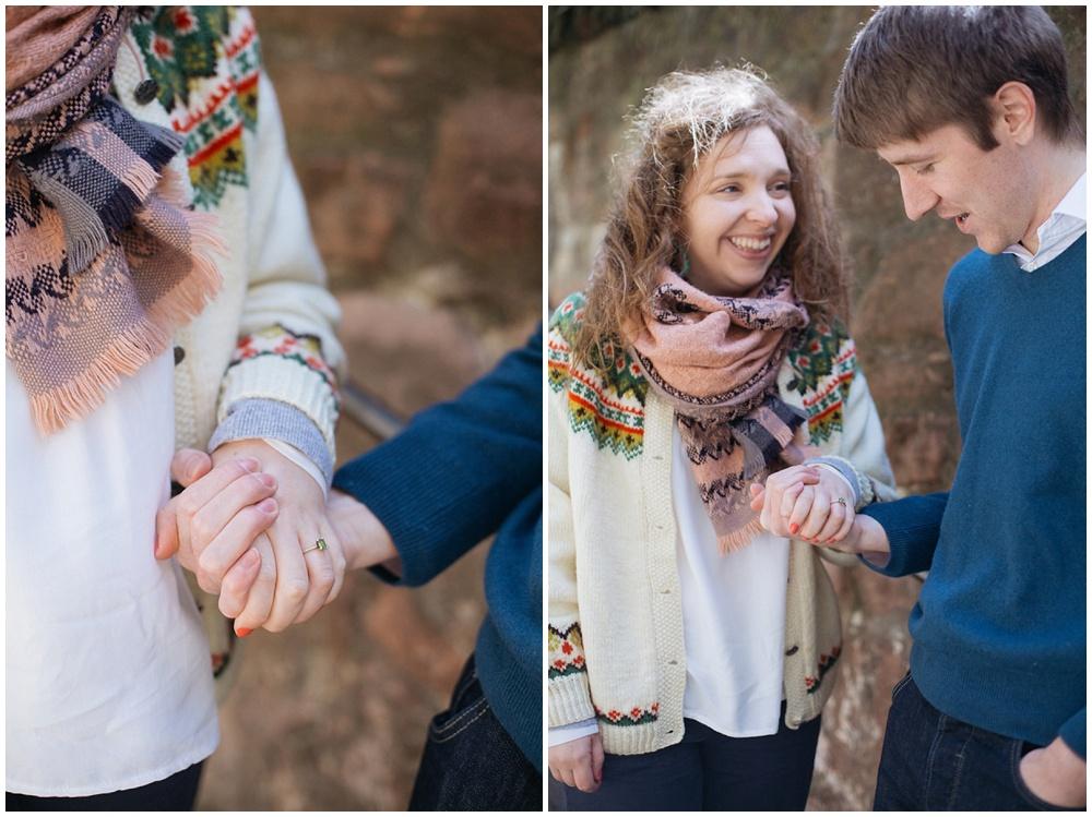 edinburgh engagement photos