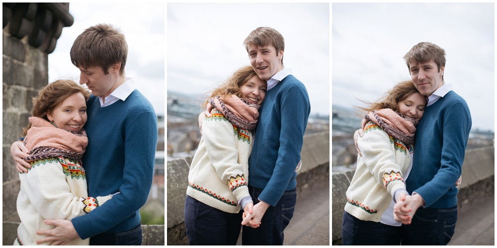 edinburgh engagement photos