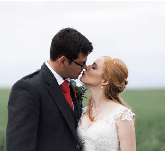 A Scottish Farm Marquee Wedding at Garleton Lodge - Emma & Mike