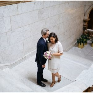 A relaxed wedding at Glasgow City Chambers and Cottiers - Caela & Jeff