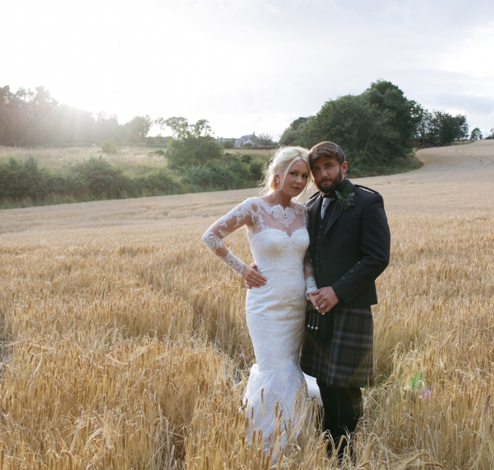 Stunning Logie Country House Aberdeen Wedding - Lee & Steph