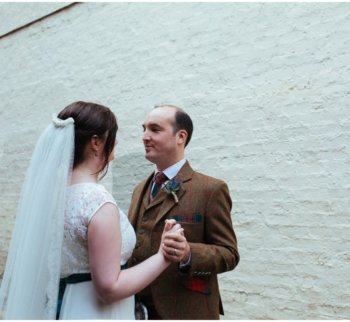 Relaxed Edinburgh wedding at Sacred Heart Church and Lauriston Hall - Sarah & Fraser
