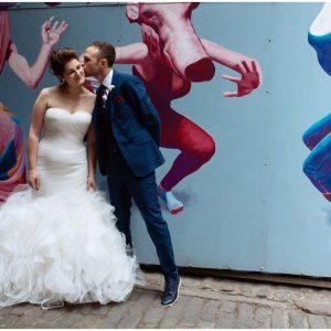 Alternative Wedding At The Caves Edinburgh - Beth & Grant