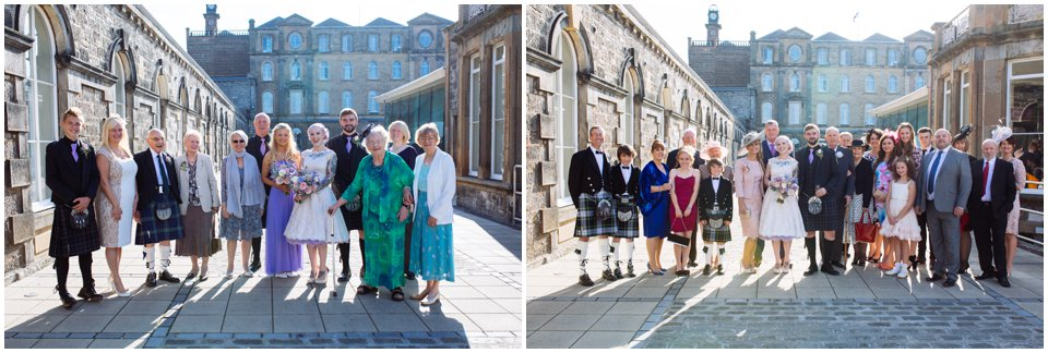 eskmills wedding creative scottish rock n roll alternative wedding photography