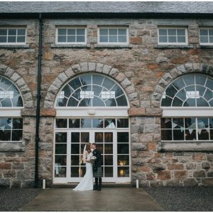 A rainy Coo Cathedral Scottish Highlands wedding  - Vicki & Robert {second shooting}