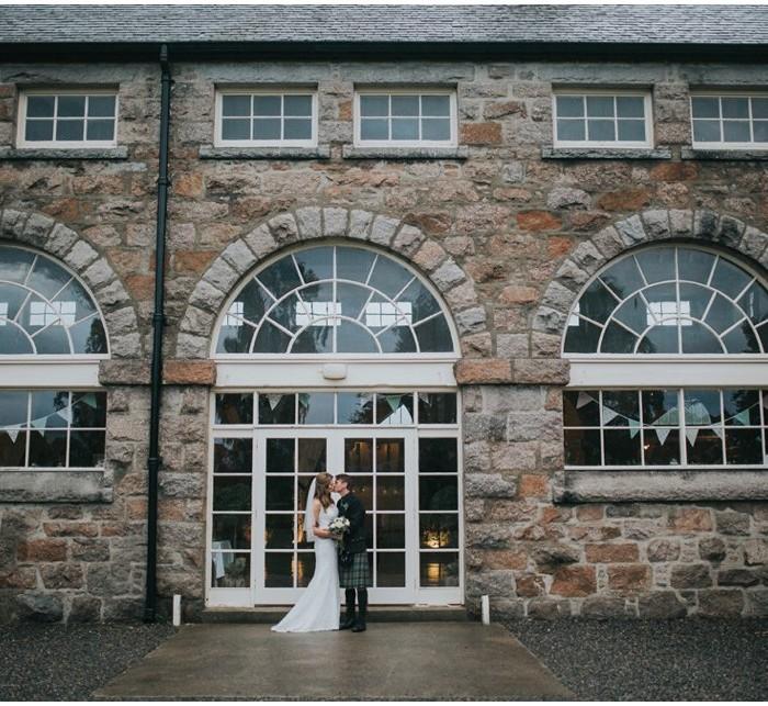 A rainy Coo Cathedral Scottish Highlands wedding  - Vicki & Robert {second shooting}