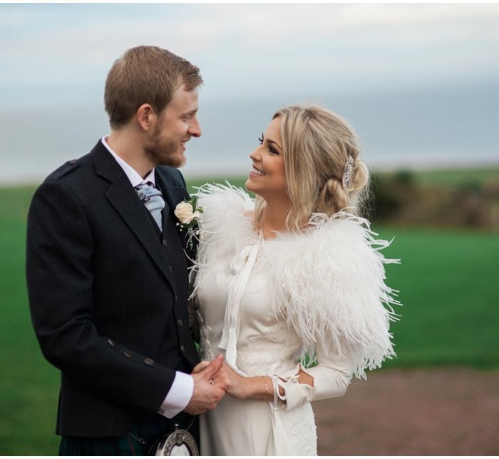 A winter barn wedding at Kinkell Byre - Kirsty & Stephen