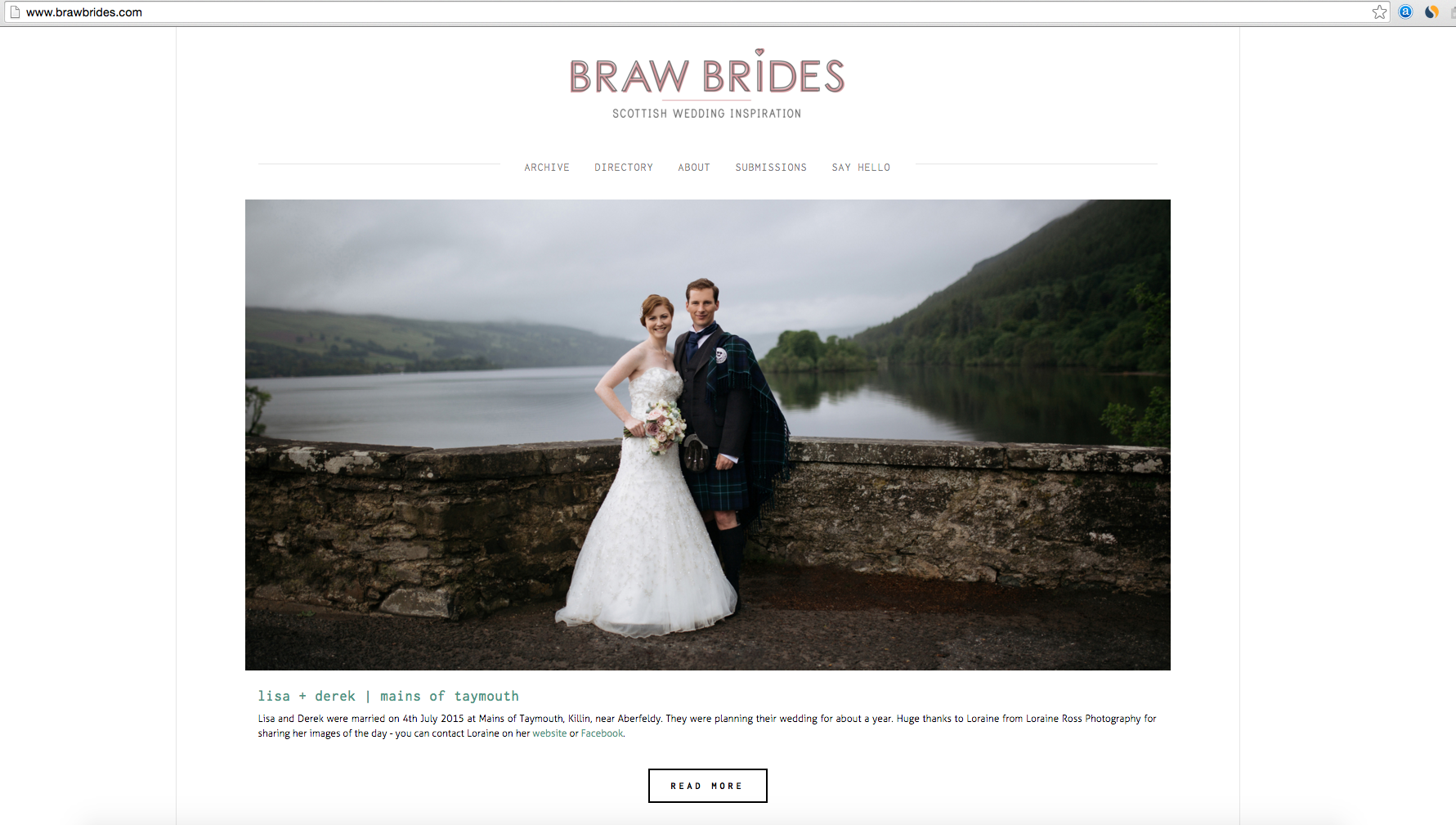 braw brides, featured work, aberfeldy, mains of taymouth, kenmore wedding
