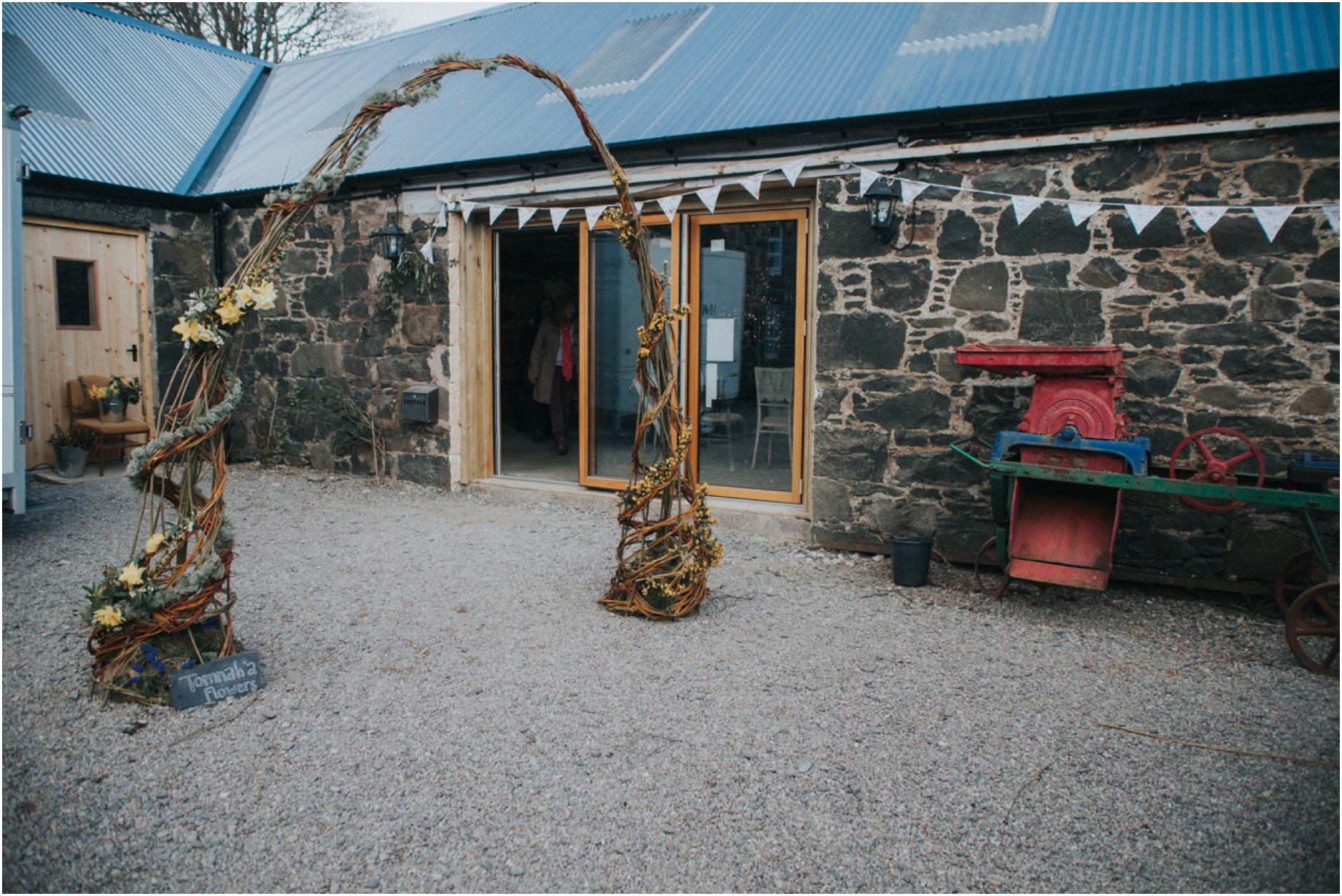 comrie croft barn wedding venue scotland