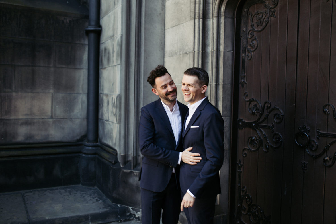 intimate lothian chambers edinburgh elopement wedding