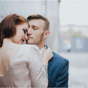 Creative Glasgow Post Wedding Photoshoot - Millie & Edd