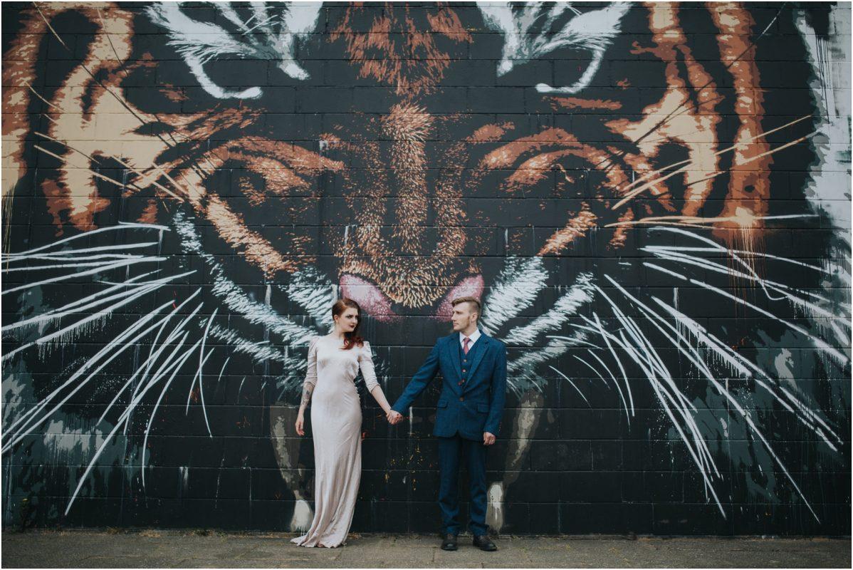 creative alternative glasgow natural wedding photographer couples photoshoot engagement pre wedding