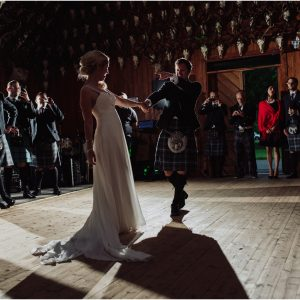 Stunning Mar Lodge, Cairngorms Wedding - Katalin & Mike