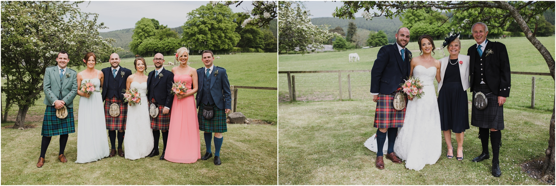 traquair village hall borders scottish creative wedding photographer