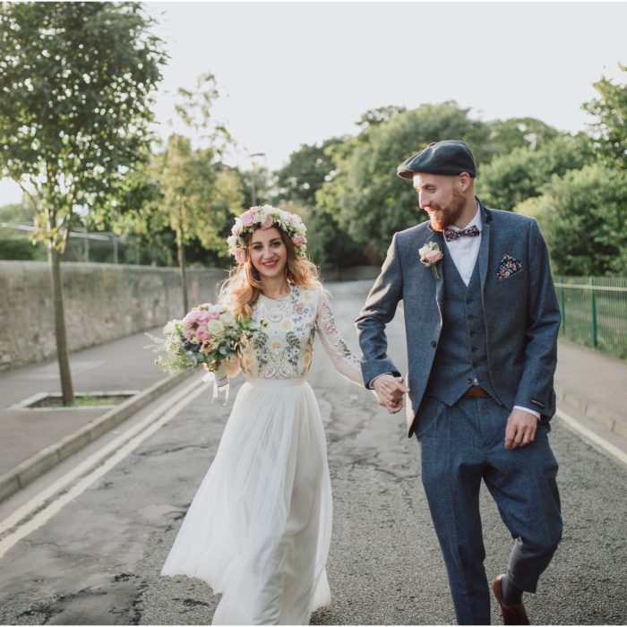 Relaxed Stylish Edinburgh Wedding at Lothian Chambers & The Raeburn - Luca & Marc