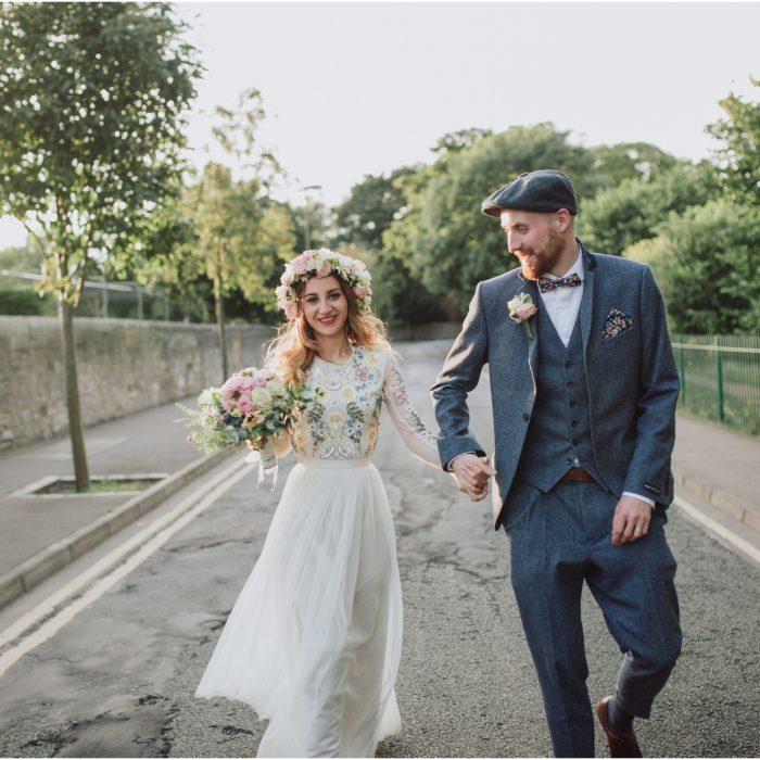 Relaxed Stylish Edinburgh Wedding at Lothian Chambers & The Raeburn - Luca & Marc