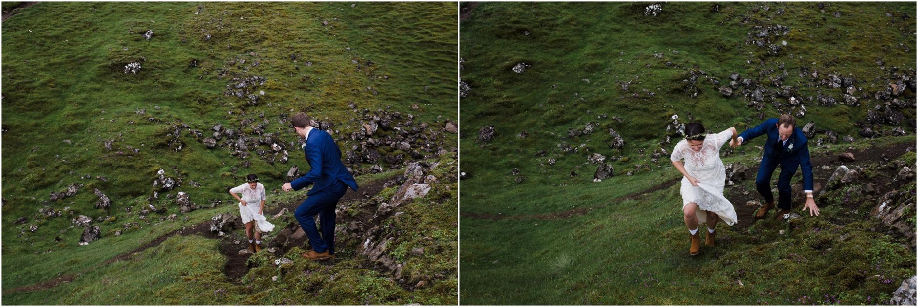 old man of storr syke scottiish highlands wedding elopement photographer