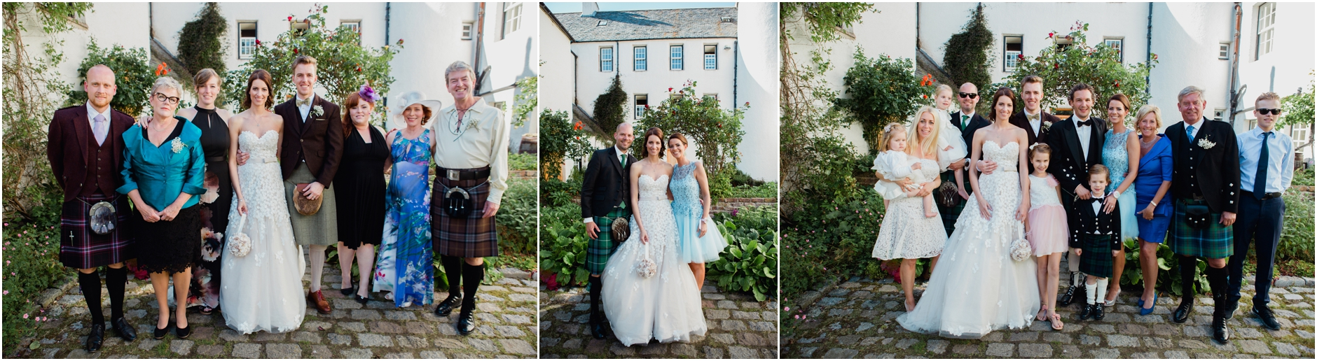 Creative and elegant wedding at Logie Country House ...