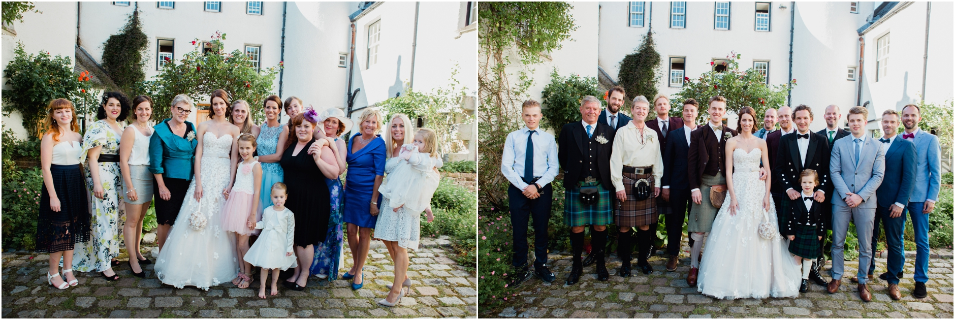 ntry house wedding photographer aberdeen highlands