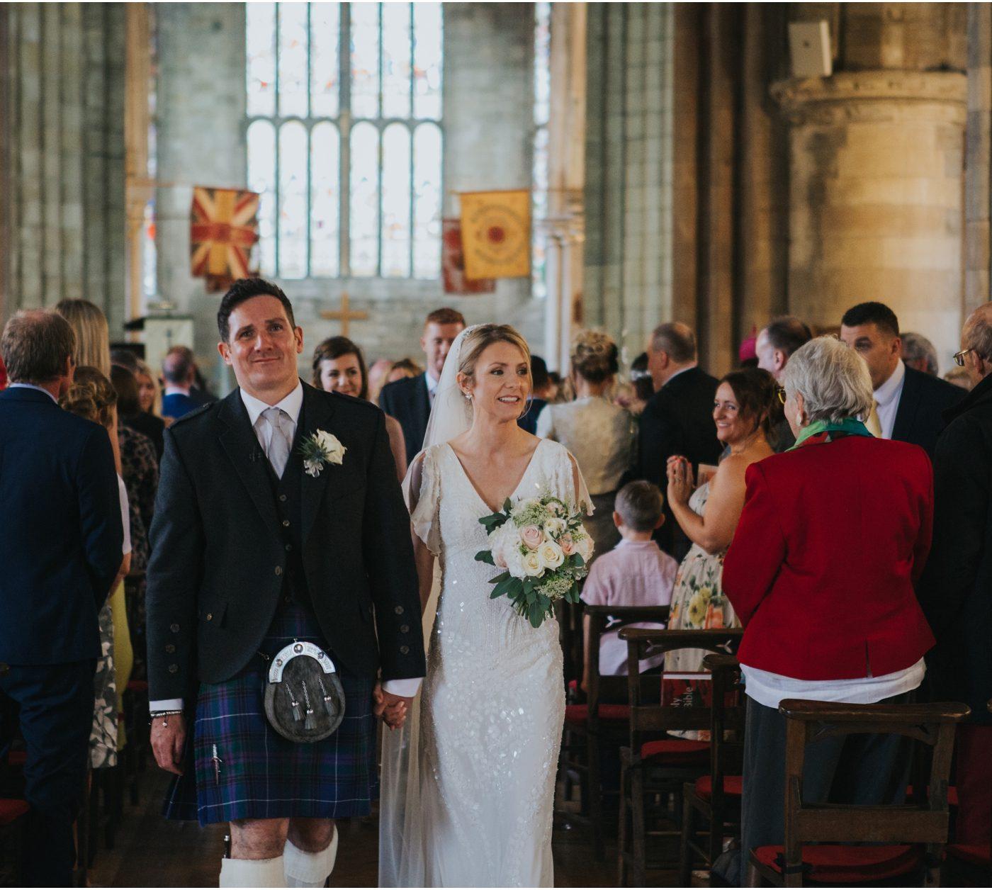Elegant Stirling wedding at Church of the Holy Rude & Cowanes Hospital - Pamela & Johnnie